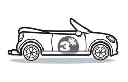 Samochodowa kreskówka Obrazy Royalty Free