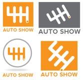 Samochodowa logo przekładnia Zdjęcia Royalty Free
