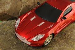 samochodowa luksusowa czerwień Zdjęcie Stock