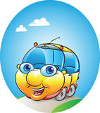 Samochodowa maskotka royalty ilustracja