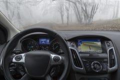 Samochodowa Nawigacja Obrazy Stock