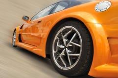 samochodowa nowożytna pomarańcze Fotografia Royalty Free