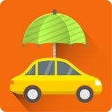 Samochodowa ochrony ikona Obraz Royalty Free
