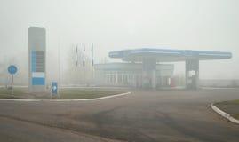 samochodowa plombowania paliwa stacja benzynowa Zdjęcie Stock