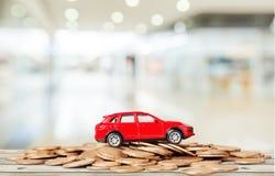 Samochodowa pożyczka Fotografia Royalty Free
