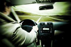samochodowa prędkość Zdjęcia Stock