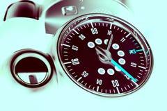 Samochodowa prędkości deska rozdzielcza Zdjęcia Royalty Free