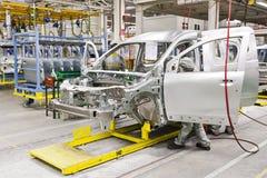 Samochodowa produkcja zdjęcie stock