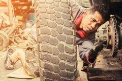 Samochodowa remontowa usługa Fotografia Stock