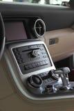 samochodowa środkowa konsola Fotografia Stock