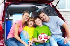 samochodowa rodzina obrazy stock