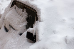 samochodowa zima Fotografia Royalty Free