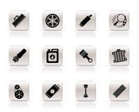 samochodowe ikon część usługa Zdjęcie Royalty Free