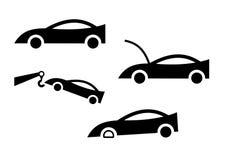 samochodowe ikony Zdjęcia Stock