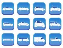 Samochodowe ikony 1 Obraz Royalty Free