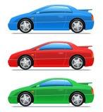 samochodowe ikony bawją się wektor ilustracji