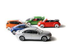 samochodowe zabawki Obrazy Royalty Free