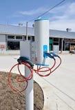 samochodowego ładunek elektryczny punkt Zdjęcie Stock