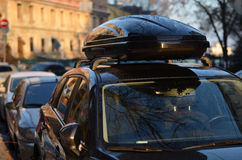 Samochodowego bagażnika dach obrazy royalty free