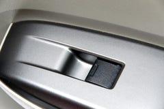Samochodowego drzwi panelu kontrola Fotografia Stock