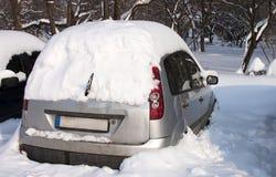 samochodowego formata surowy śnieżny Zdjęcia Stock