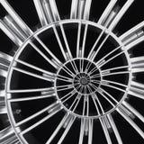 Samochodowego koła szprych fractal hamulcowego dyska opony zakończenia up spirali skutka wzoru tła abstrakcjonistyczna ilustracja Obrazy Royalty Free