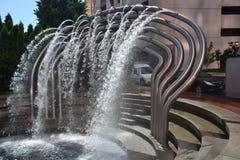 Samochodowego obmycia fontanny wizerunek 1, Portland, Oregon zdjęcie royalty free