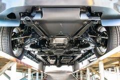 Samochodowego podwozia dolny widok zdjęcie royalty free