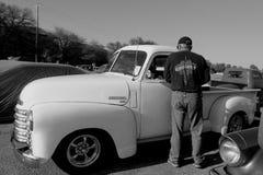 Samochodowego przedstawienia chevy pickup Zdjęcie Royalty Free