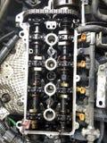 Samochodowego silnika silnika bloku naprawa Zdjęcie Stock