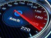 samochodowego silnika rewolucj przedstawienie prędkości szybkościomierza pojazd royalty ilustracja