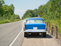 samochodowej autostrady stara strona Obraz Stock