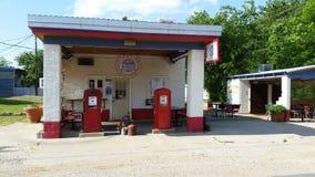 samochodowej karmy benzynowa stacja twój Fotografia Royalty Free