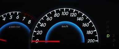 samochodowej konsoli deski rozdzielczej elektroniczna nawigacja Zdjęcie Royalty Free