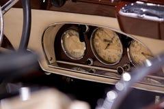 samochodowej konsoli deski rozdzielczej elektroniczna nawigacja Obraz Royalty Free