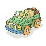 Samochodowej kreskówki barwiony wektor Obrazy Stock