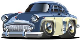 samochodowej kreskówki retro wektor ilustracji