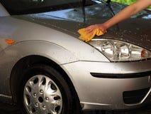 samochodowej opieki zabranie Fotografia Royalty Free