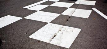 Samochodowej rasy asfalt obraz stock