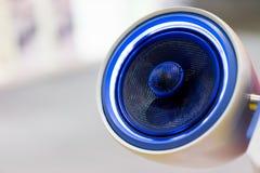 Samochodowi Audio mówcy Błękitni Zdjęcia Stock