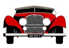 samochodowi czerwoni sporty Ilustracji