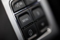 Samochodowi deska rozdzielcza guziki Obrazy Royalty Free