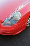 samochodowi gorący czerwoni sporty Obraz Stock