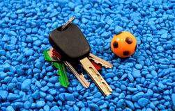 Samochodowi klucze Obrazy Stock