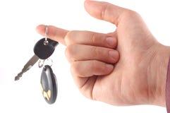 samochodowi klucze zdjęcia stock