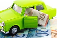 Samochodowi koszty Fotografia Royalty Free