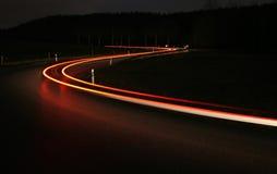 Samochodowi ligths Fotografia Royalty Free
