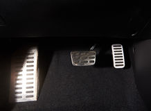 Samochodowi następy automatyczny samochód Zdjęcia Royalty Free