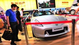 samochodowi nowi Nissan Zdjęcia Royalty Free