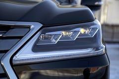 Samochodowi reflektory Fotografia Stock
